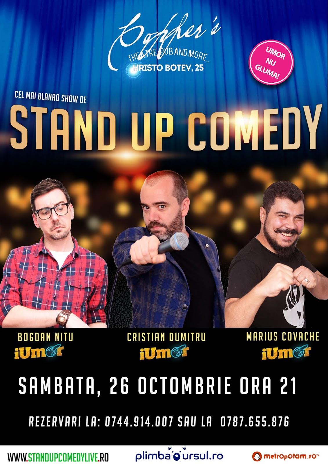 Stand-Up Comedy Azi Bucuresti