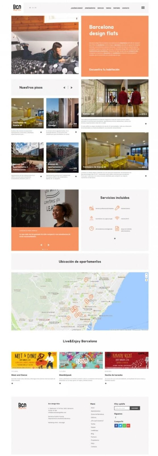 La teva web dise o web barcelona dise o web y seo para - Pisos de diseno en barcelona ...