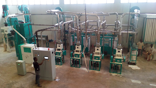 20Tmaize milling machine in Arusha