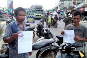 136 Pedagang dan Pengunjung Pasar Sungai Bengkal Langgar Protokol Kesehatan, 6 Orang Didenda Uang