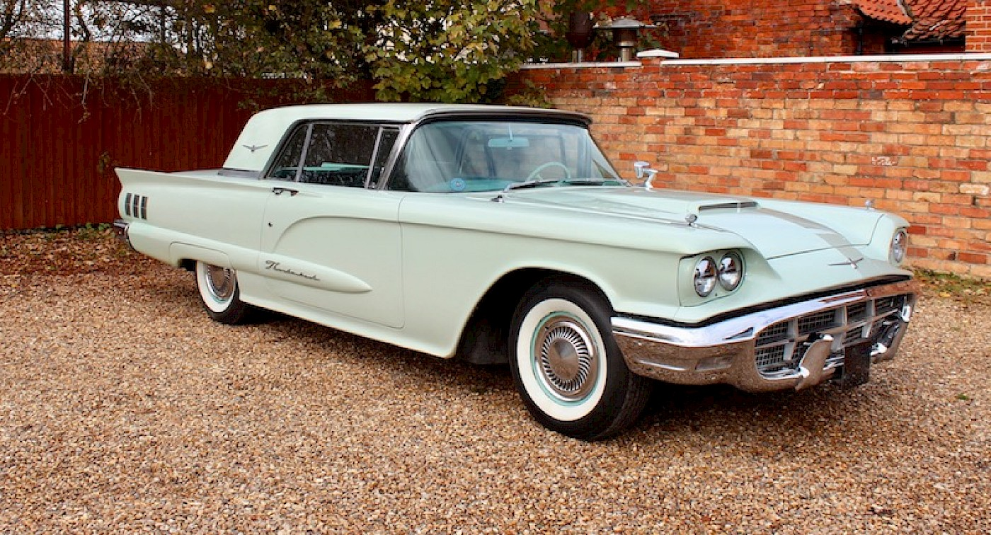 CLASSIC OF THE DAY from CLASSIC CHATTER: 1960 FORD THUNDERBIRD V8 ...