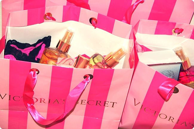 Victoria's Secret shopping and gifts