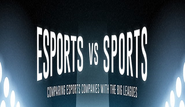 How Do Esports Companies Compare with Sports Teams? #infographic