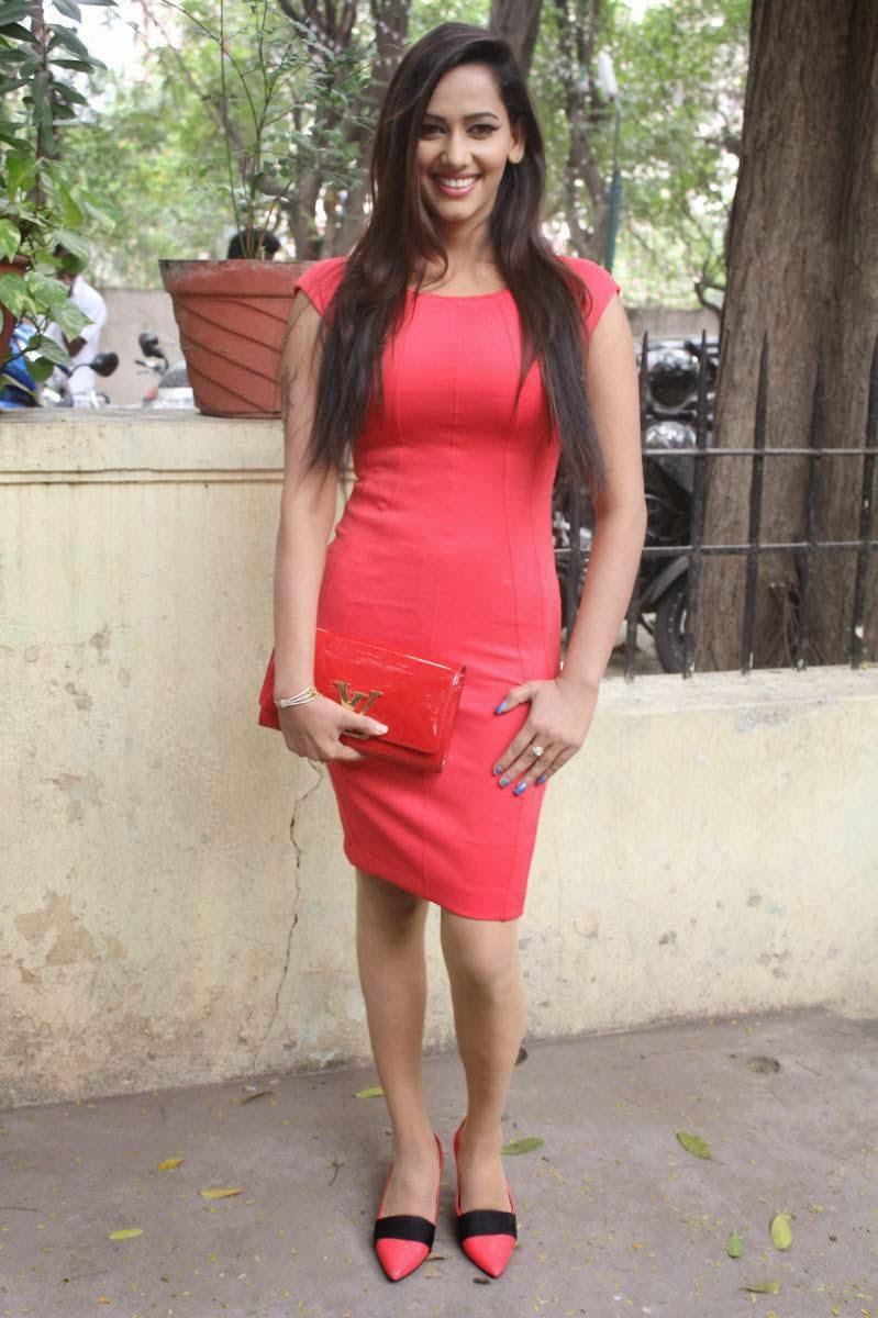 hq pics n galleries !!: sanjana singh hot photos in short dress at