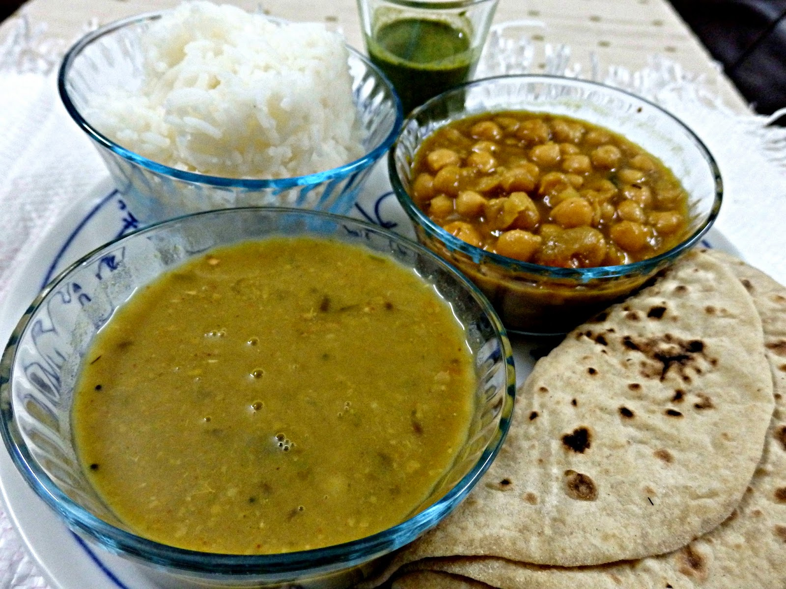 A thali from vaishno thali bake tales for Cuisines of uttar pradesh