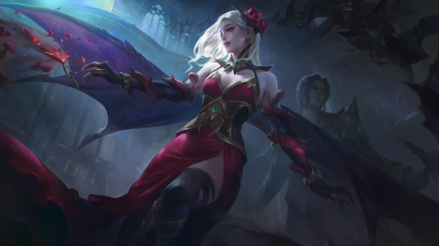 Carmilla Shadow of Twilight Heroes Support of Skins ML HD Wallpapers