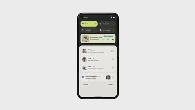 14 ميزة جديدة ستأتي للهواتف التي تعمل بنظام Android 12