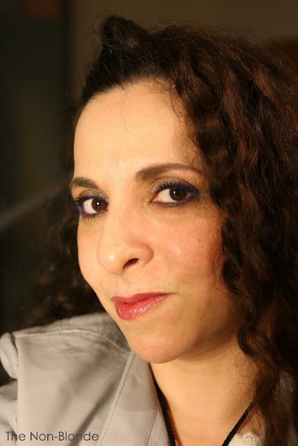 Lisa Eldridge Make Up: FotD: Lisa Eldridge's Bright Eyeliner/Nude Face