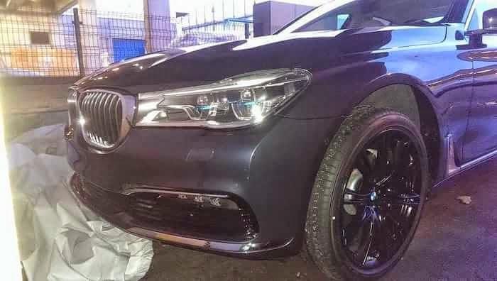 Este es el nuevo BMW Serie 7 2016