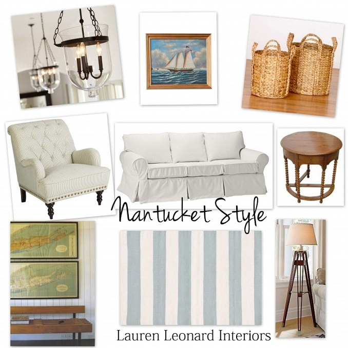 Calling It Home: Nantucket Style....The Cottage Mix
