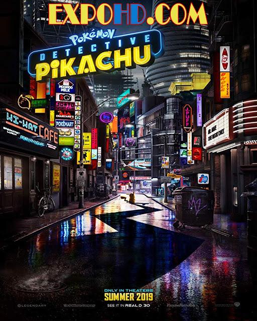 Pokémon Detective Pikachu 2019 IMDb 480p | Esub 1.2Gbs [Watch & Download] G.Drive