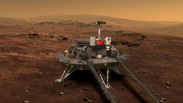Rover Zhurong em Marte