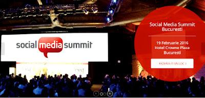 Hai la Social Media Summit Bucuresti!