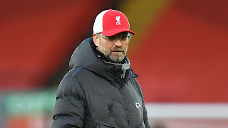 Jurgen Klopp throw in towel On Top Four Finish For Liverpool