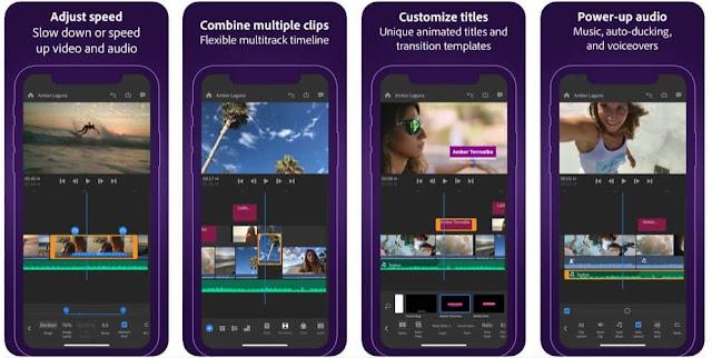 تطبيق مونتاج لليوتيوبرز