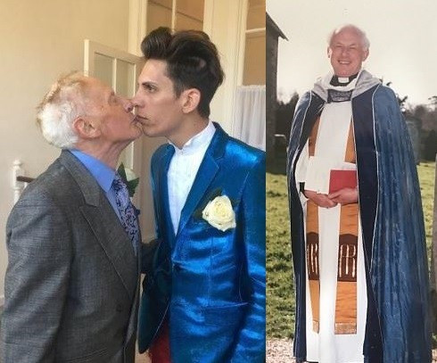 Retired vicar, 81, who married Romanian boy, 27, has passed away and his husband says he's ready to enjoy his £150k inheritance and £2,000-monthly pension