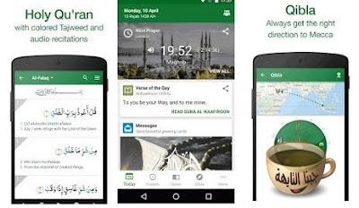 تحميل برنامج مسلم برو كامل للاندرويد والايفون والكمبيوتر Muslim Pro free