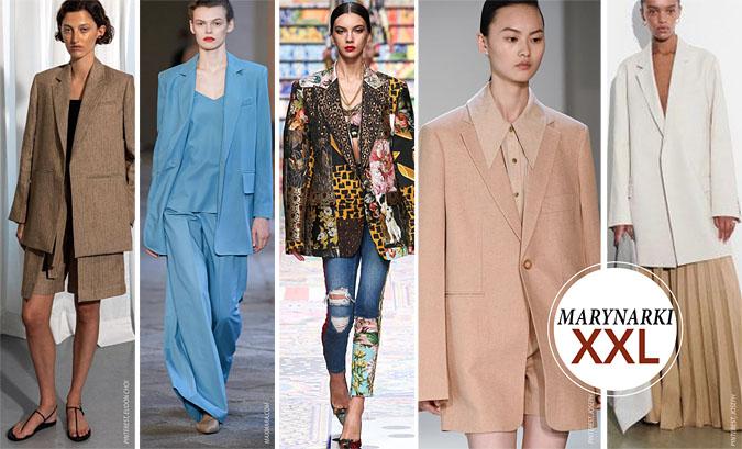 modne garnitury 2021