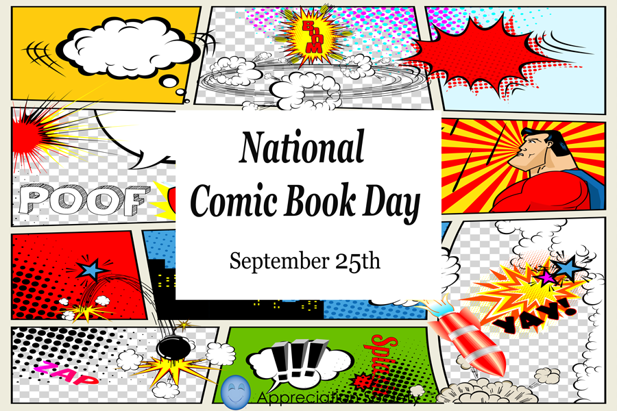 National Comic Book Day Wishes