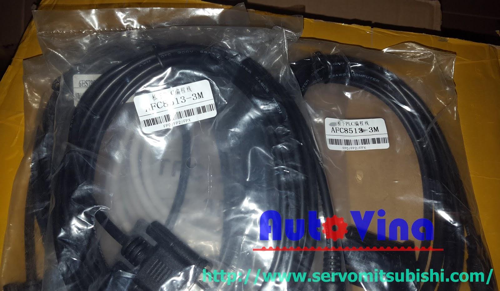 Đại lý bán cable lập trình PLC Panasonic AFC8513-3m FP0 FP2 FPX Series