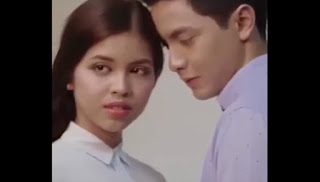 Alden can't help himself but stare at Maine's eyes.