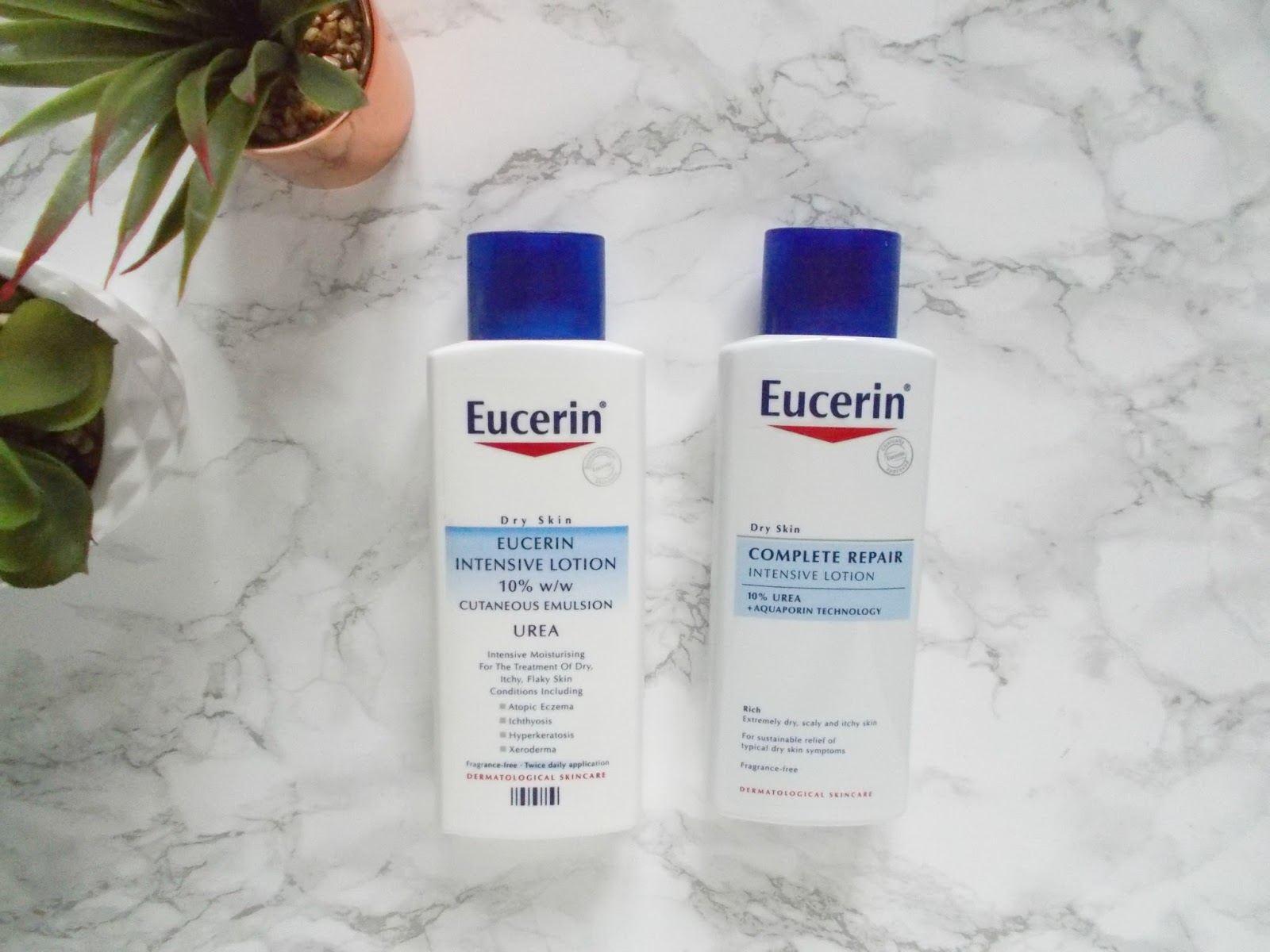 eucerin dry skin intensive lotion urea review