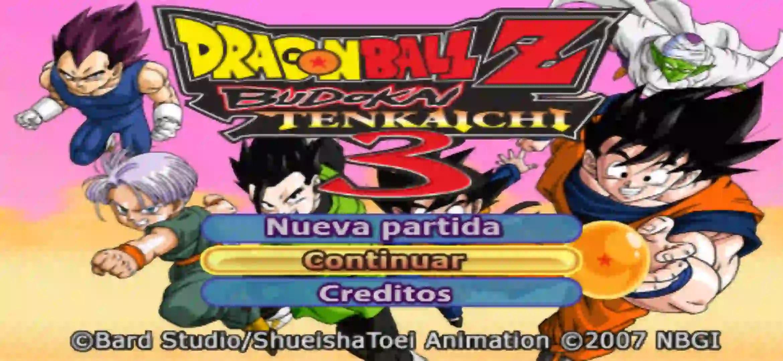 Dragon Ball Z Budokai Tenkaichi 3 PPSSPP ISO Download