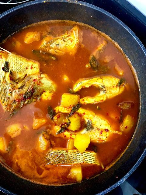 Resepi Asam Rebus Nenas Ikan Kaci Yang Paling Senang Dan Sedap