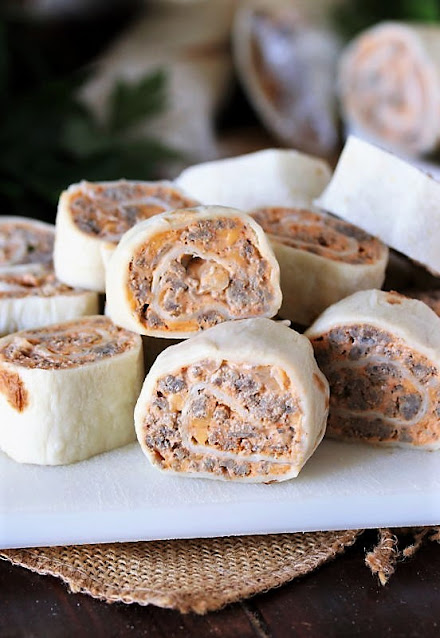 Recipes to Make with Sausage - Taco Tortilla Roll-Ups Image