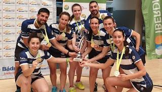 BÁDMINTON - El IES La Orden consigue su primera Copa Iberdrola