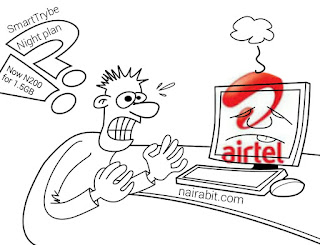 Airtel smartTrybe Night plan increased