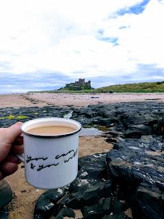 Bamburgh Castle, Bamburgh Beach, Northumberland