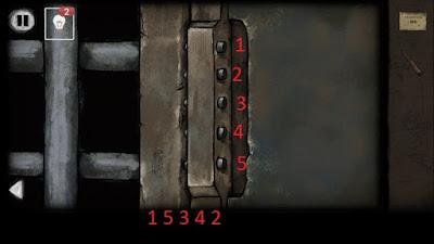 набираем шифр на замке от решетки в игре выход из заброшенной шахты