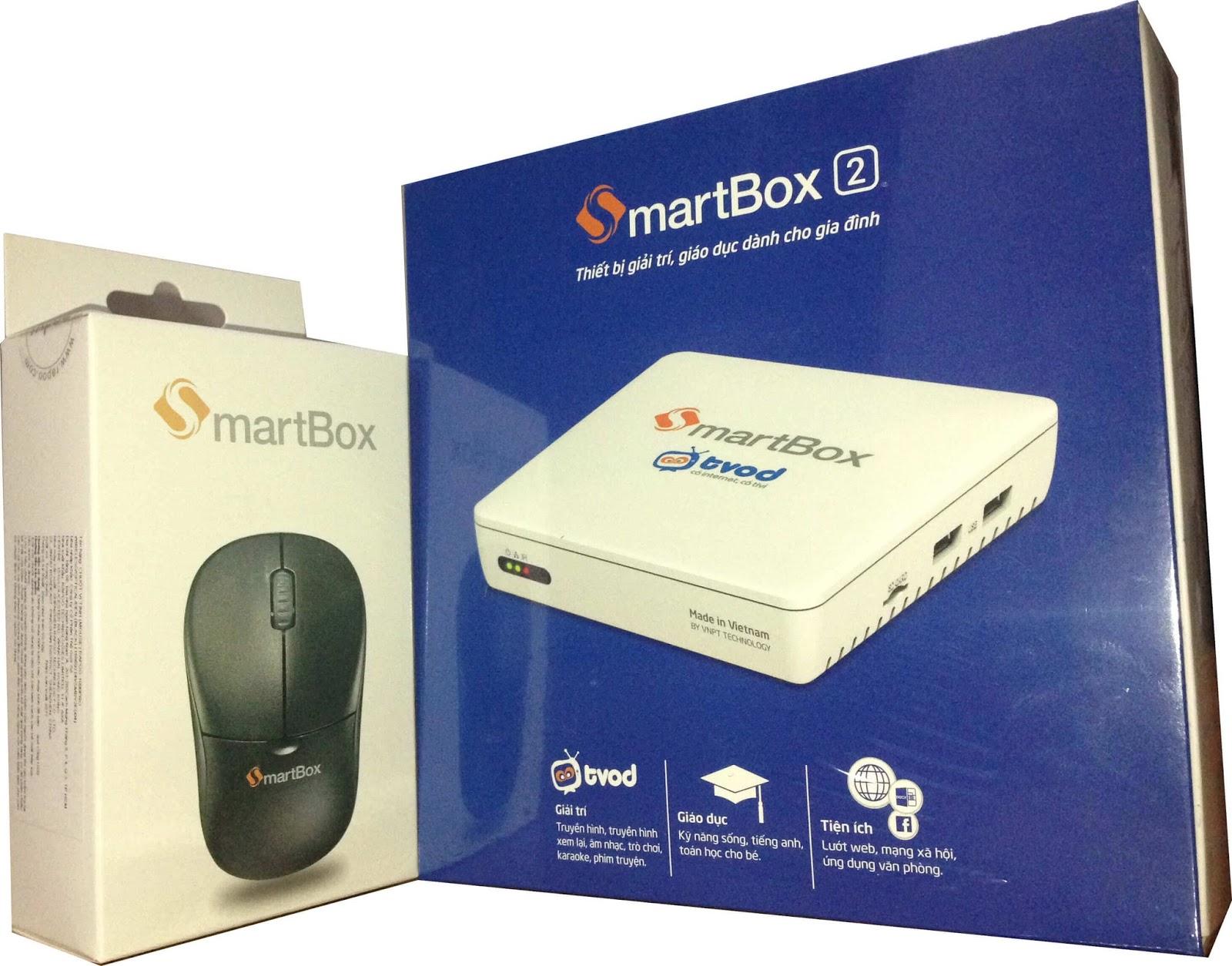 SmartBox 2   Android TV Box chính hãng VNPT