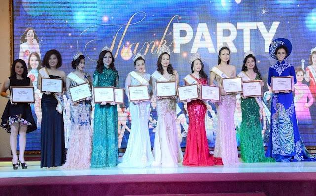 Đêm vinh danh Hoa hậu, Á hậu Miss and Mrs International Global 2018 hoành tráng