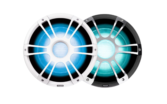Garmin apresenta os subwoofers de 12'' Signature Series da Fusion