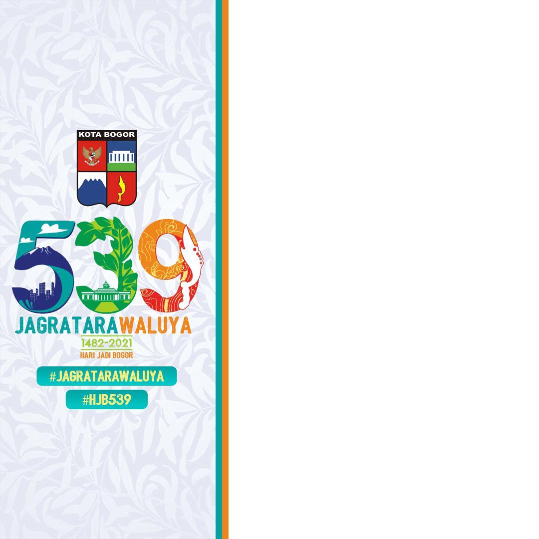 Desain Keren Bingkai Twibbon HUT Kota Bogor 2021 Gratis - Twibbonize