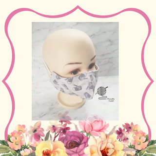 Handmade Cotton Face Mask Gardening Watering Can