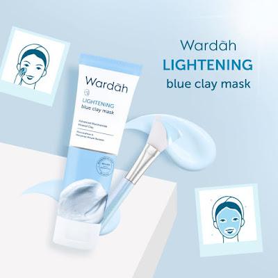 Clay mask wardah lightening