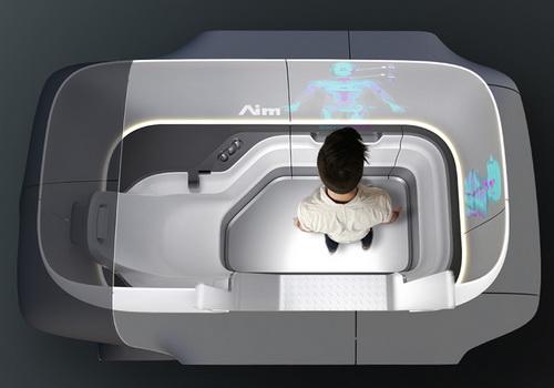 Tinuku.com Artefact studio designed Aim's autonomous clinic to visit patients