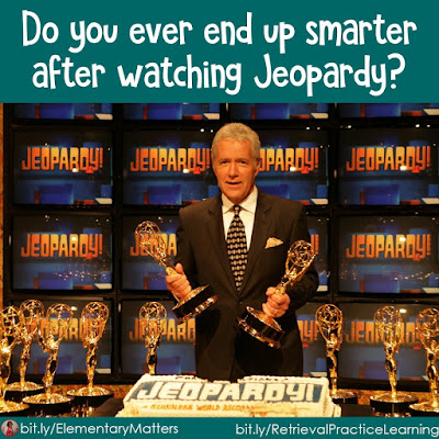 Did you ever end up smarter after watching Jeopardy? Many times children can learn just by trying to answer the questions provided. Here are some fun digital tools to help them enjoy learning by trying!
