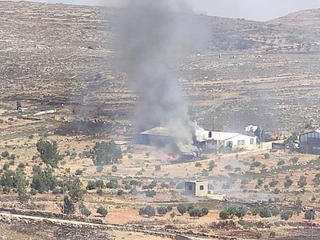 6 جرحى في هجوم للمستوطنين على قرية قصرة