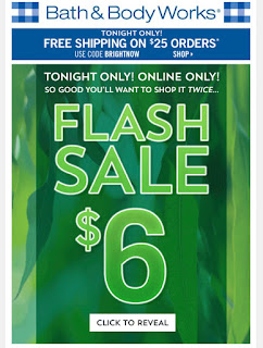 Bath & Body Works | Today's Email -  February 16, 2020 | Tonight's Flash Sale Wallflowers Dual Pack