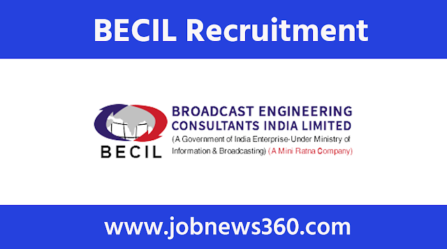 BECIL Recruitment 2020 for Driver, DEO, MTS, Accountant, Lab Assistant, Supervisor & more