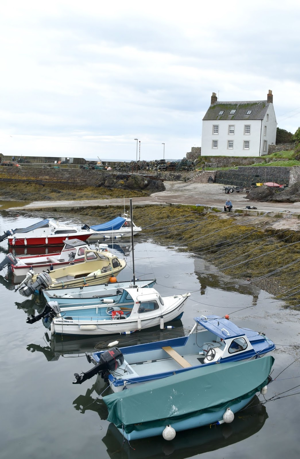 Avengers Filming in Scotland - Exploring St Abbs and New Asgard