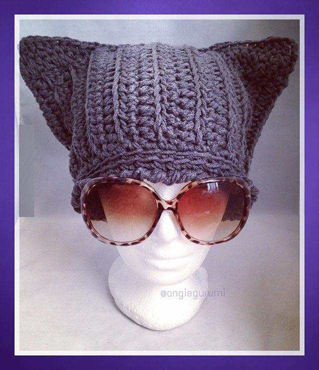 Amigurumi DIY by AngieGurumi: Crochet, Gorro orejas de Gato, Free