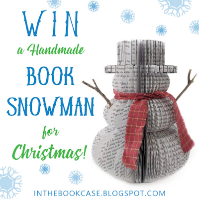 You can enter daily for a chance to win this adorable Handmade Book Page Snowman! Perfect for the literature-loving person in your life.