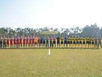Brigjen TNI Benny Susianto, S.I.P Buka Turnamen Sepak Bola  Pangdivif 2 Cup Tahun 2016