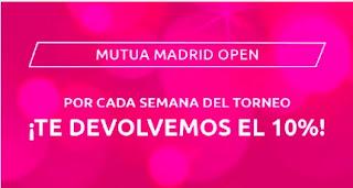 Mondobets promo Mutua Madrid Open 2021