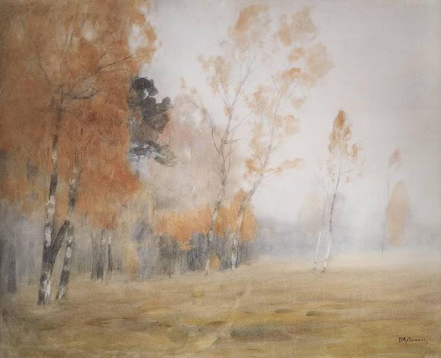 Исаак Ильич Левитан - Туман. Осень. 1899
